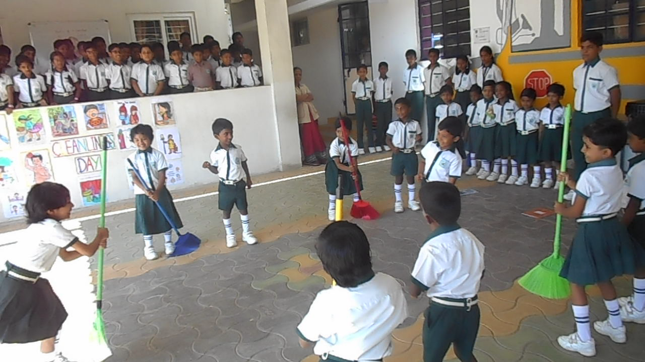 5 Cleanliness day Observed at school